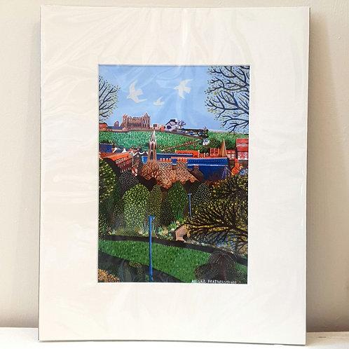 Pannett Park, Whitby - Mounted Print