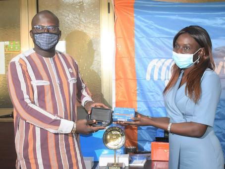 Don de matériels à l'ANEREE: Burkina24 en parle