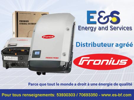 E&S distributeur agréé de Fronius