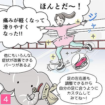 カスタムインソール漫画1-4
