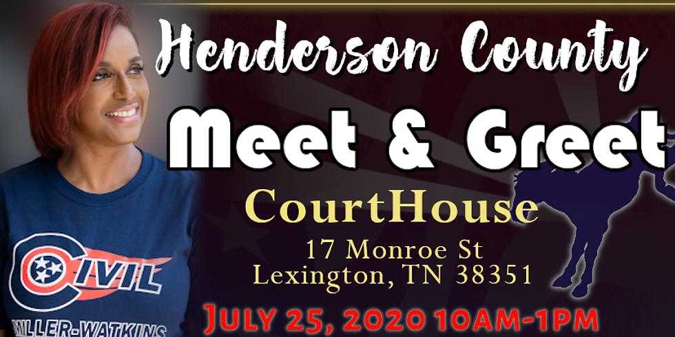 Henderson County Meet & Greet