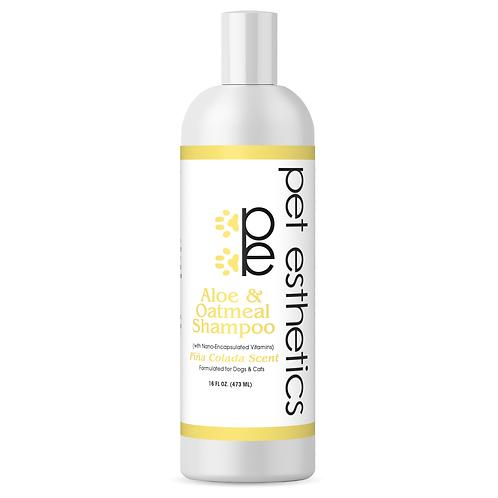 Aloe & Oatmeal Nourishing Shampoo16fl oz (Pina Colada Scent) pe1050