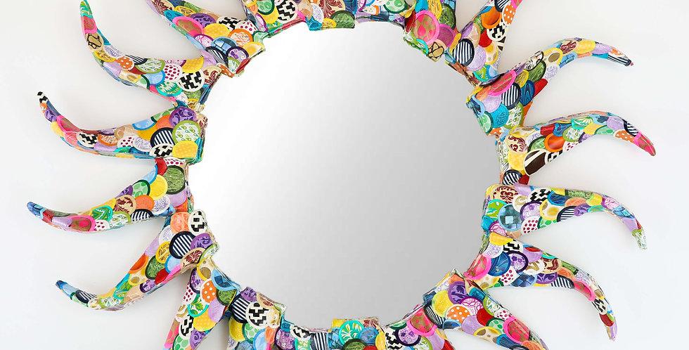 """WIND """"Patchwork"""" Decorative Mirror"""