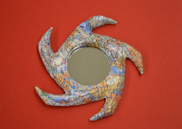 Vela Ornament Mirror