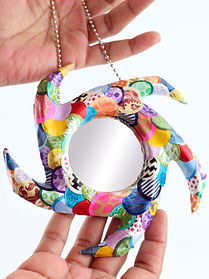 Sustainable Promotional Gift Multicolored Small Mirror