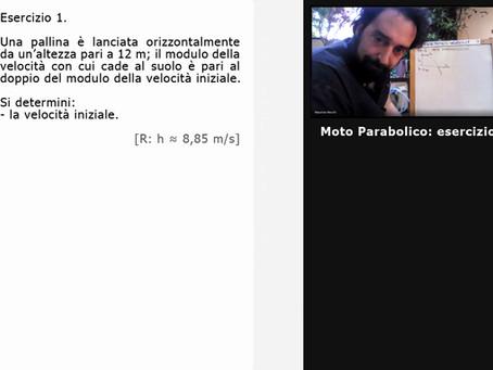 [02] Moto Parabolico: esercizio