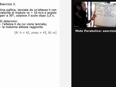 [01] Moto Parabolico: esercizio