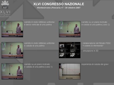CD distribuito al XLVI Congresso AIF 2007