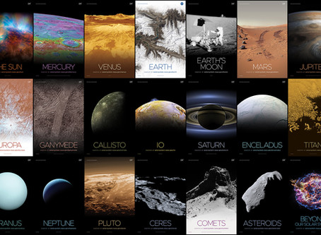 Solar System and Beyond Poster Set