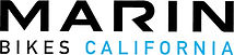 Marin Bikes California logo on the list of brands available at Allsports and Cycle