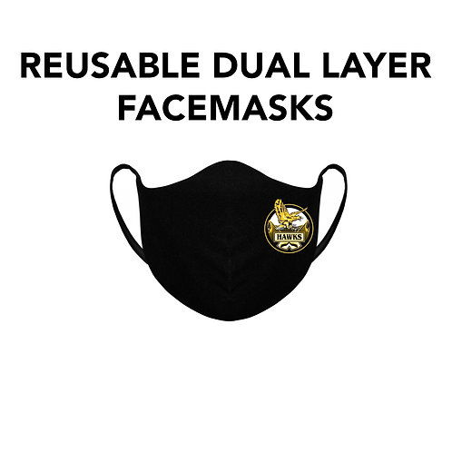Hawks Reusable Cloth Mask