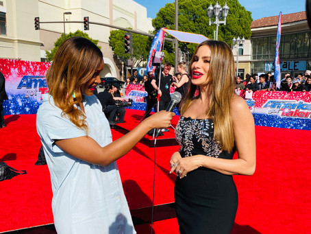 """Like the First Day of School."" Sofia Vergara Spills On Her First Day At 'America's Got Talent'"
