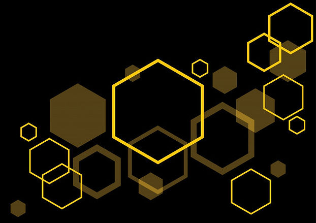 hexagon-black-background-abstract-backgr