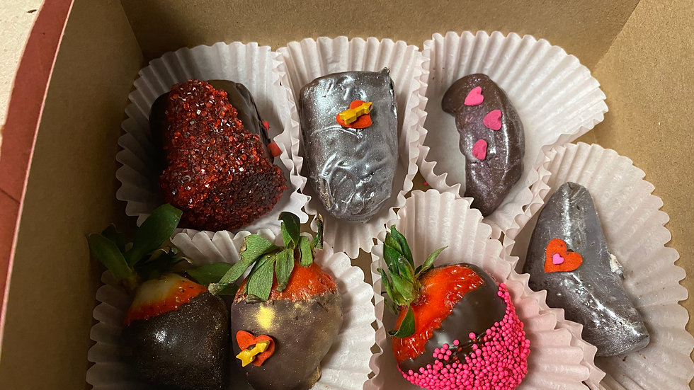 Chocolate Covered Fruit Box