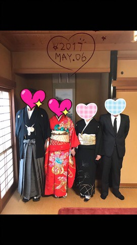 富山県男性と結婚しました♡