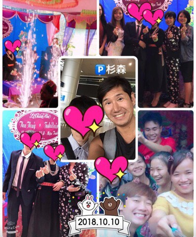神奈川県男性とベトナム女性が国際結婚しました💕