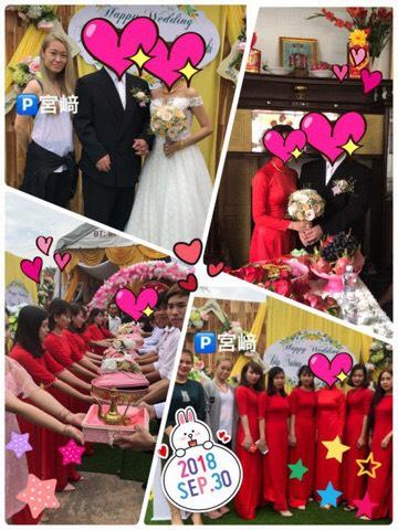 青森県男性とベトナム女性が国際結婚しました♡