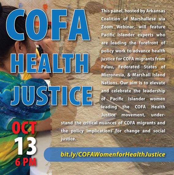 October 13: COFA Health Justice
