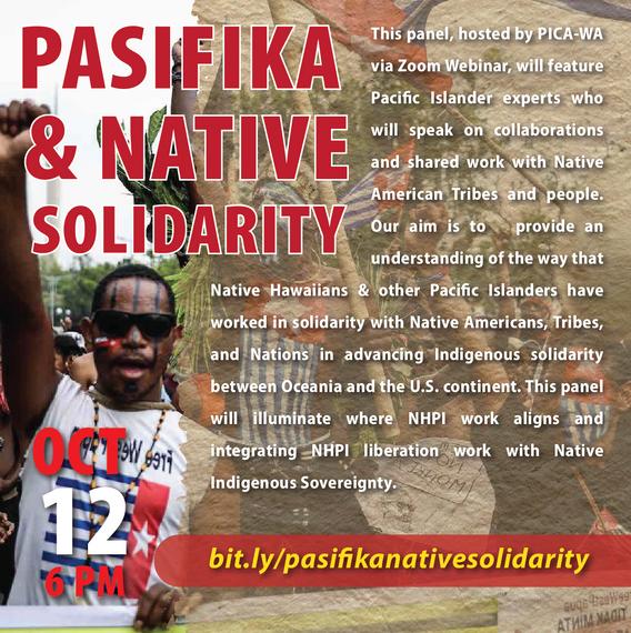 October 12: Pasifika & Native Solidarity