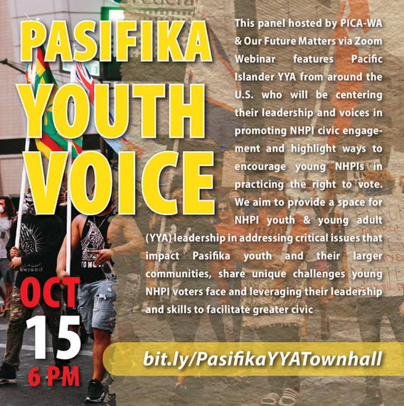 October 15: Pasifika Youth Voice