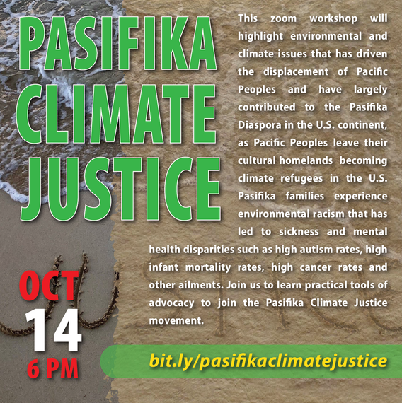 October 14: Pasifika Climate Justice