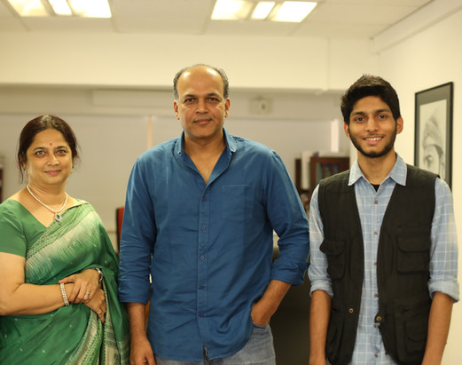 With Film Director Ashutosh Guwariker