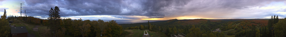 Sunset at Lutsen Mountains