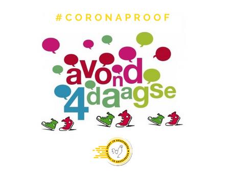 LOOP DE AVONDVIERDAAGSE #CORONAPROOF