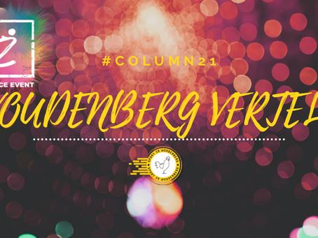 WOUDENBERG VERTELT #COLUMN21