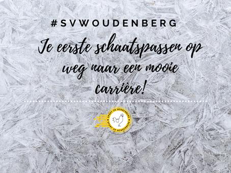 Je eerste schaatspassen op weg naar een mooie carrière! #SVWOUDENBERG