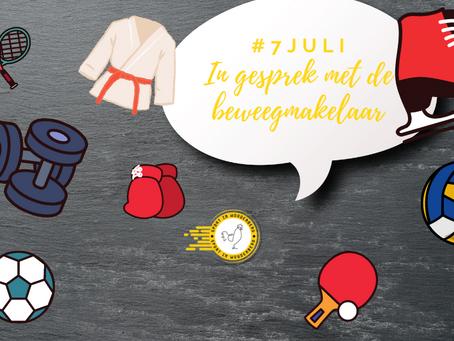 In gesprek met de beweegmakelaar #7juli