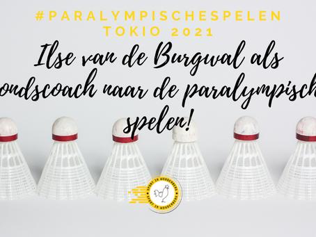 Ilse van de Burgwal als bondscoach naar de Paralympische spelen #lidvanhetkernteam #wijzijntrots
