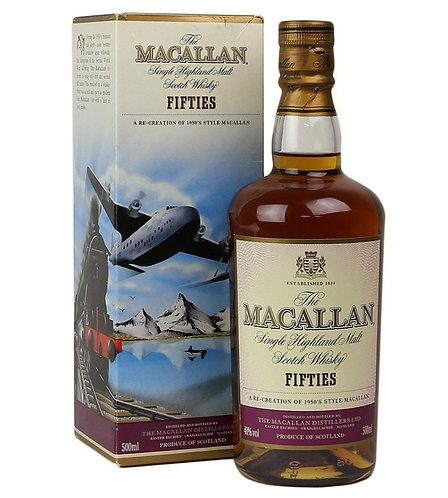 Macallan Travel Series- Fifties
