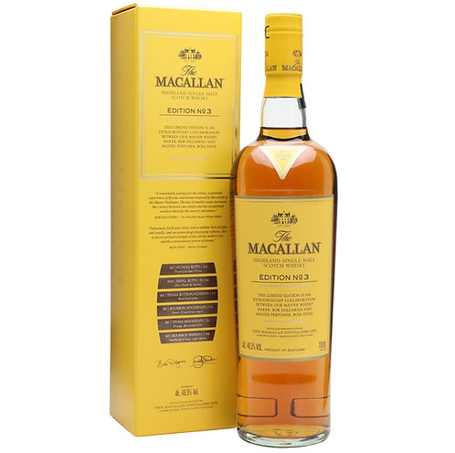 Macallan Edtion No.3