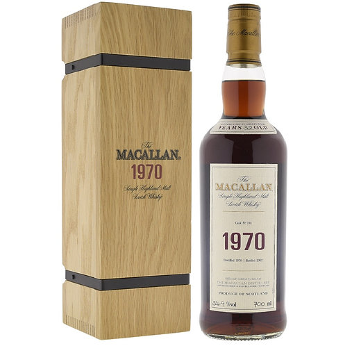 Macallan 1970 32 Year Old Fine and Rare