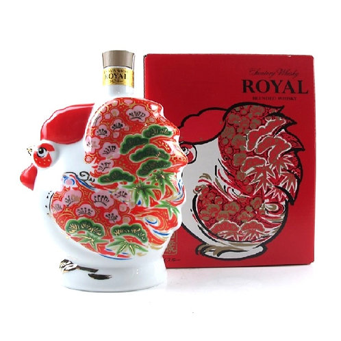 Suntory Whisky  Royal Blended Rooster Zodiac Ceramic 2017