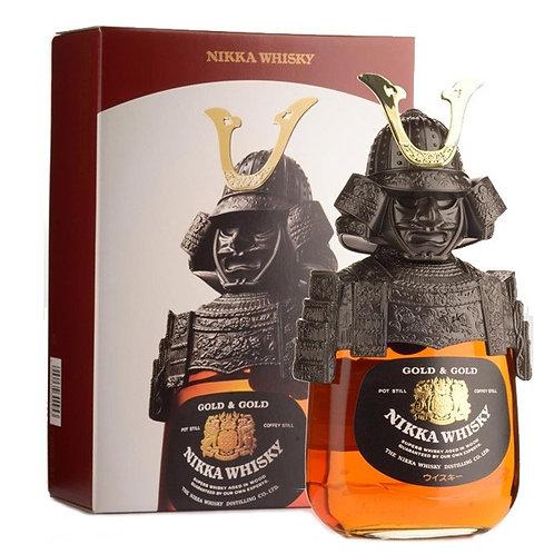 Nikka Whisky Gold & Gold Samurai