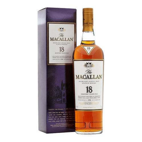 Macallan 18 Year Old Sherry Oak 1996
