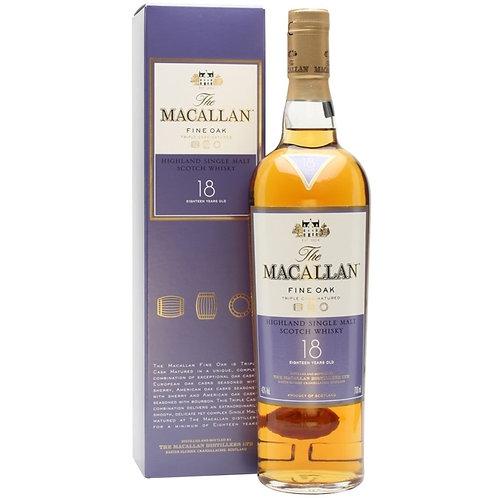 Macallan 18 Year Old Fine Oak 2017