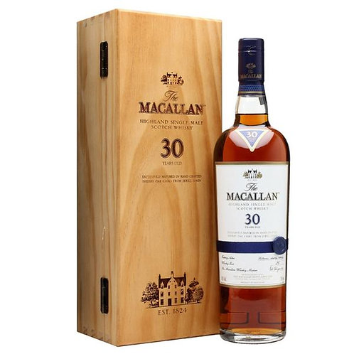 Macallan 30 Year Old Sherry Oak (Previous Version)