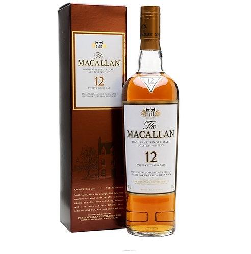 Macallan 12 Year Old Sherry Oak 2017