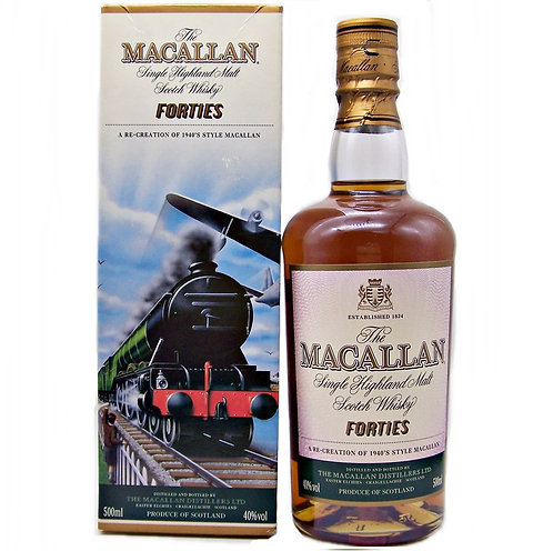 Macallan Travel Series- Forties