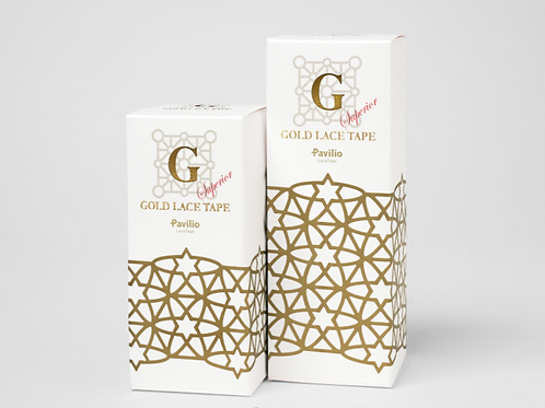 GOLD LACE TAPE Star