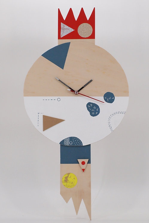Artwork Wall Clock No.10 (Kentarou Tanaka)