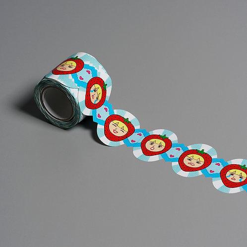 Artist Lace Tape Strawberry (Chika Takei)