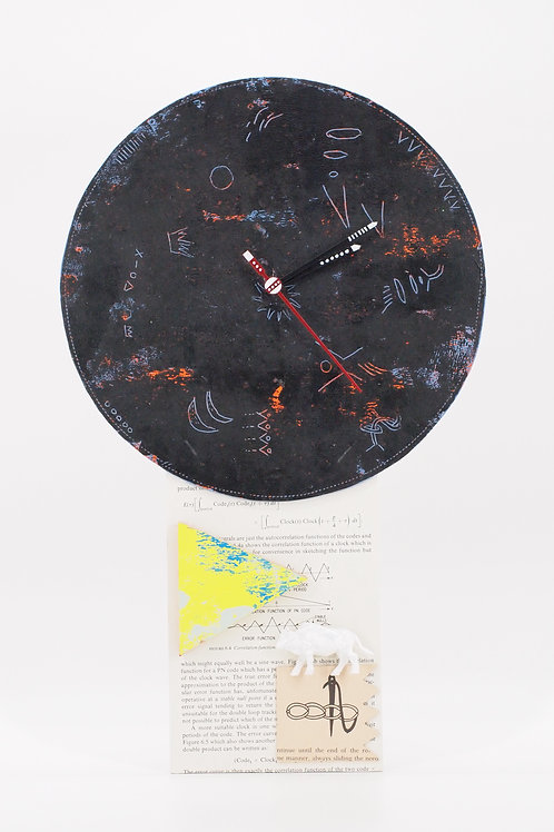 Artwork Wall Clock No.6 (Kentarou Tanaka)