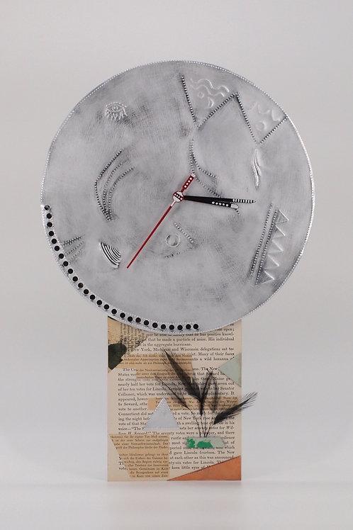 Artwork Wall Clock No.1 (Kentarou Tanaka)