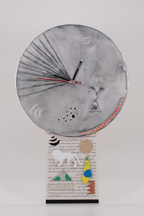 Artwork Wall Clock No.2 (Kentarou Tanaka)