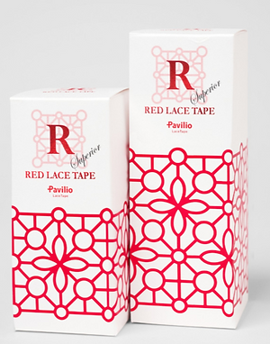 RED LACE TAPE Bubble