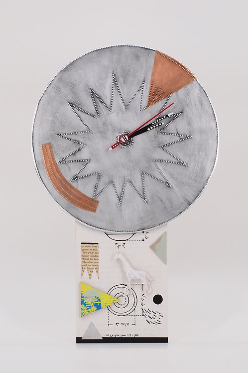 Artwork Wall Clock No.4 (Kentarou Tanaka)